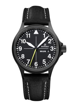 Damasko DA36 Black Automatic Watch