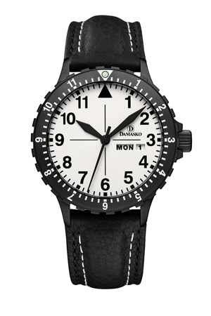 Damasko DA47 Black Automatic Watch
