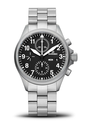 Damasko DC56 Automatic Chronograph Watch With Bracelet