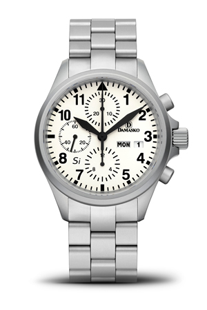 Damasko DC57 Si Automatic Chronograph Watch With Bracelet