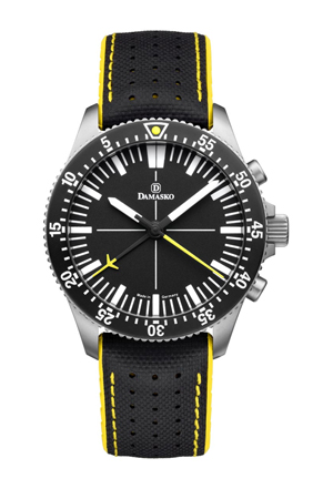 Damasko DC80 Yellow Automatic Chronograph Watch