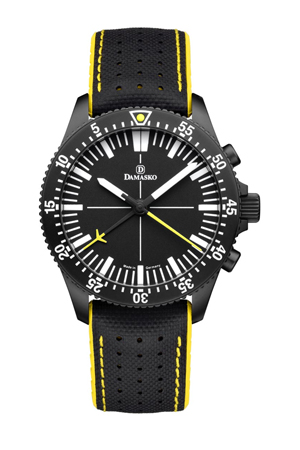 Damasko DC80 Yellow Black Automatic Chronograph Watch