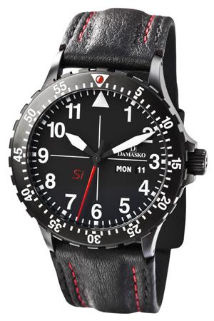 Damasko Watch Technology Damasko Dk10 Black Automatic