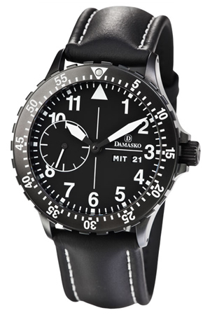 Damasko DK14 Black Automatic Watch