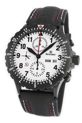 Damasko DC67 Si Black Automatic Chronograph Watch