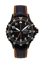 Damasko DA42 Black Mechanical Watch