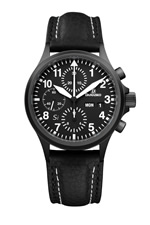 Damasko DC56 Si Black Automatic Chronograph Watch