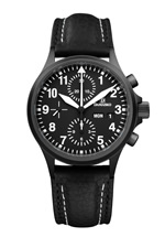 Damasko DC56 Black Automatic Chronograph Watch