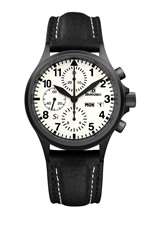 Damasko DC57 Si Black Automatic Chronograph Watch