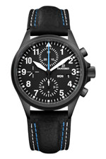 Damasko DC58 Black Automatic Chronograph Watch
