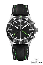 Damasko DC80 Green Automatic Chronograph Watch
