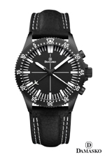 Damasko DC80 Black Automatic Chronograph Watch