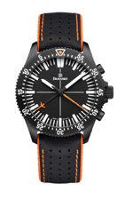 Damasko DC80 Orange Black Automatic Chronograph Watch