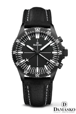 Damasko DC82 Black Automatic Chronograph Watch