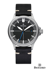 Damasko DS30 Self Winding Mechanical Watch with Blue Hand